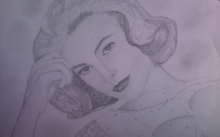 Grace Kelly by Mnsgha